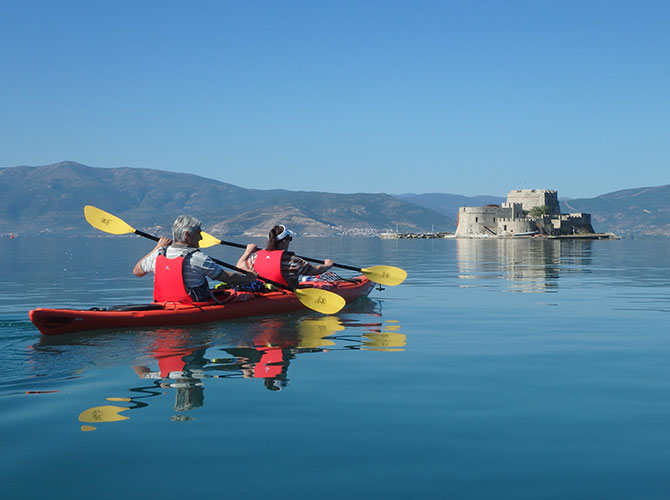 Nafplio Sea Kayak Tour1