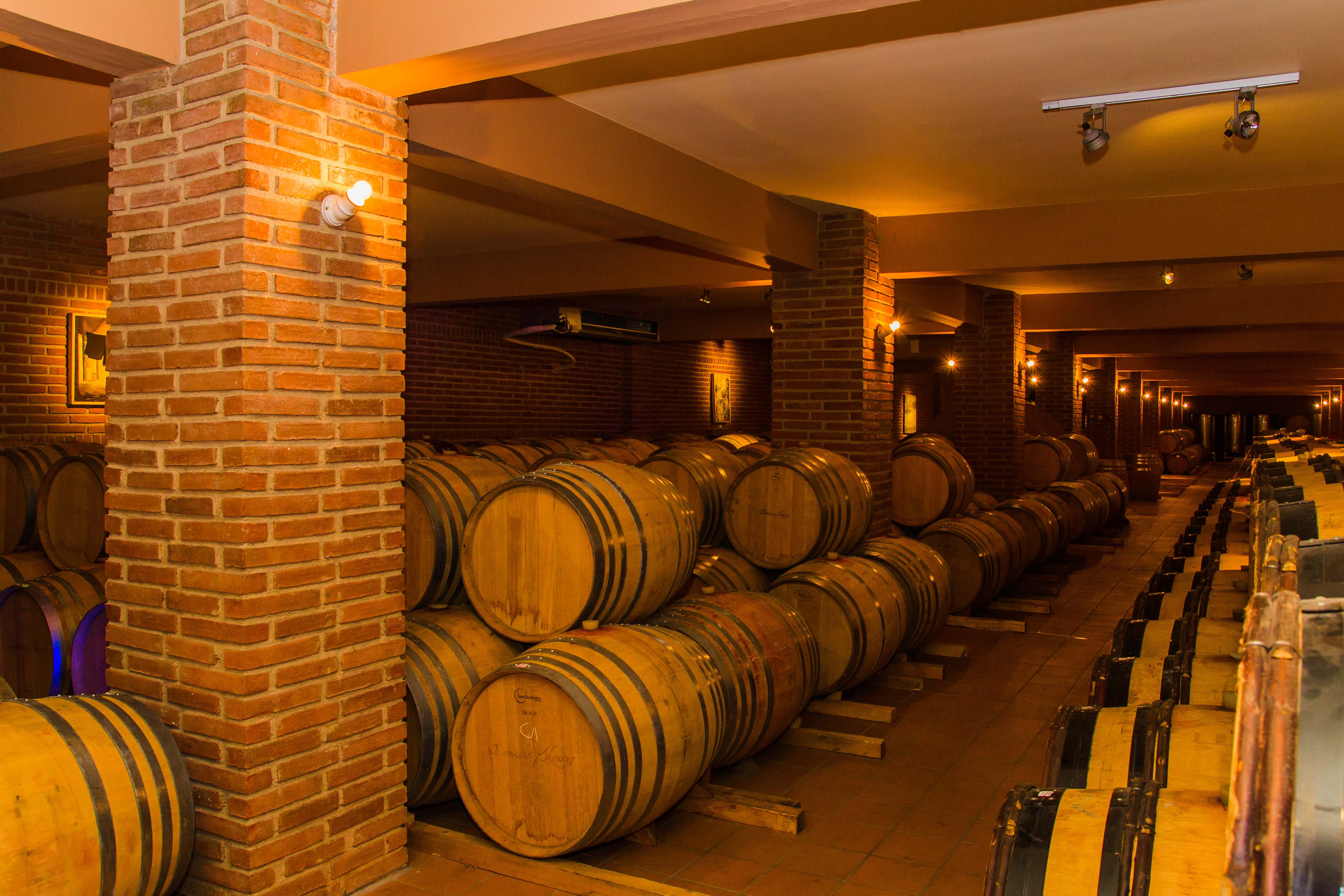 Cellar of a Nemean Winery