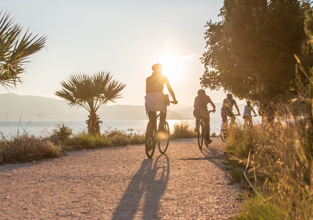 Enjoy a sunset cycling tour in Nafplio