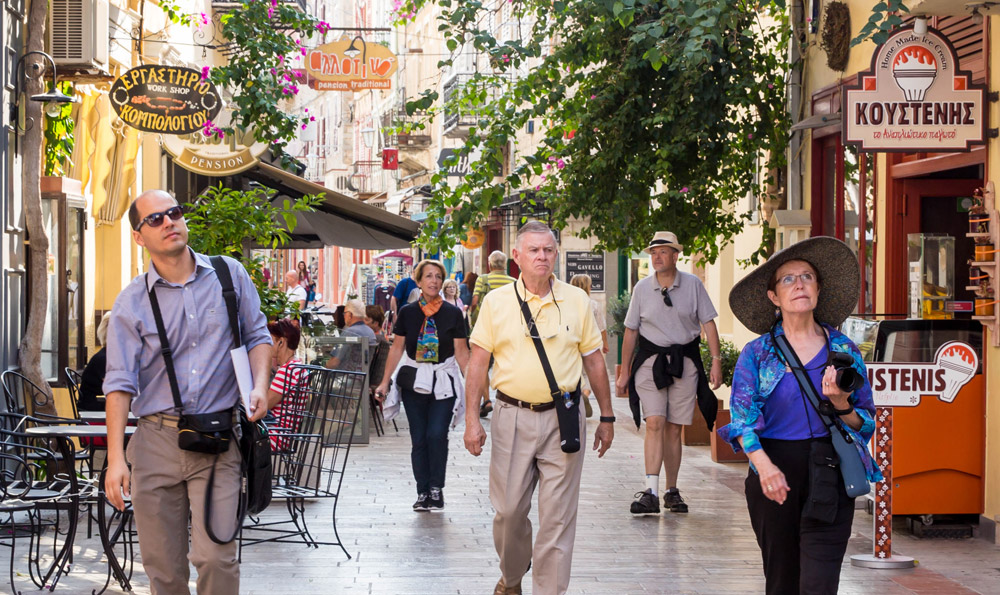 City walking tour of Nafplio