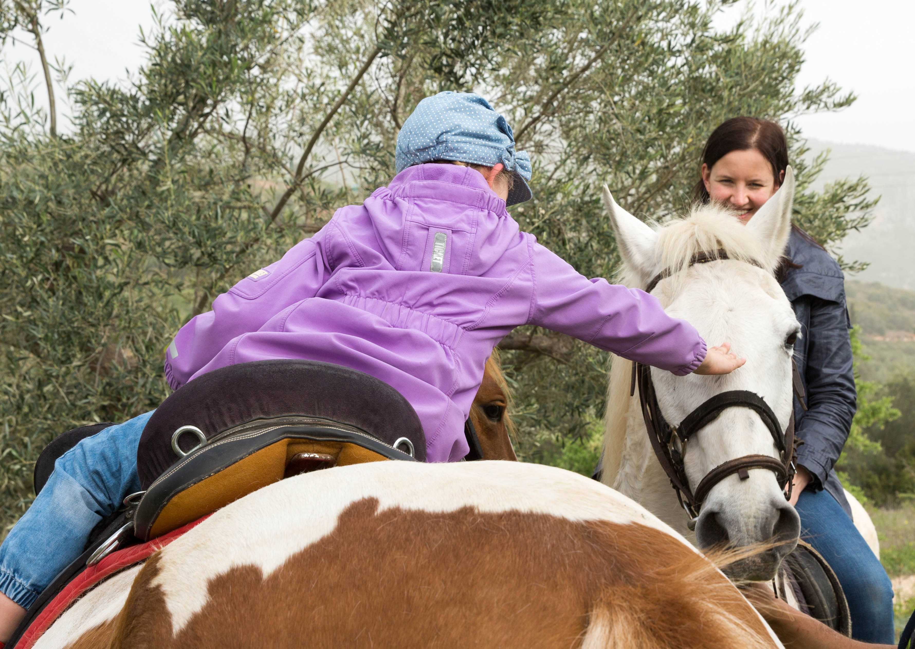 Horse riding, family friendly activity