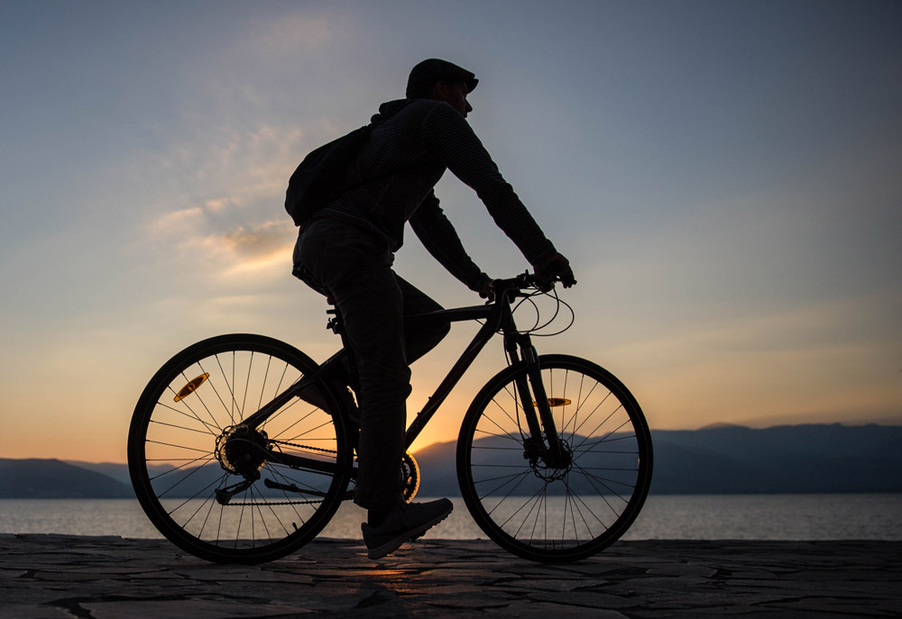 Amazing sunset cycling tour in Nafplio