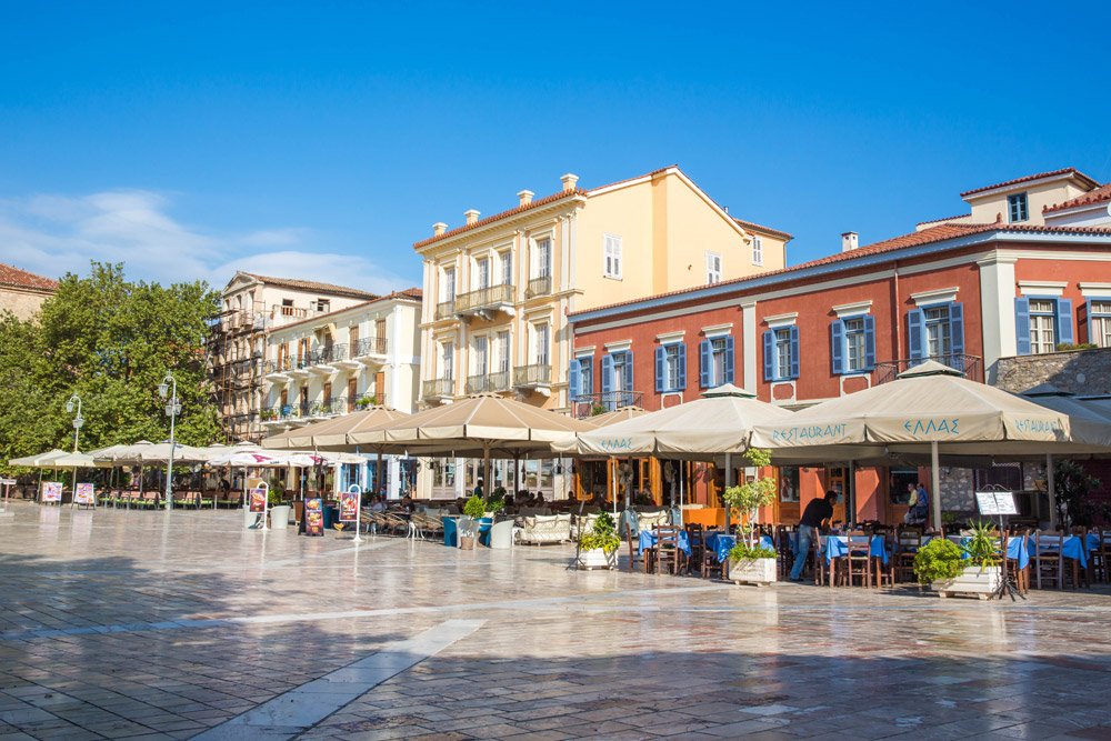 Syntagma Square of Nafplio