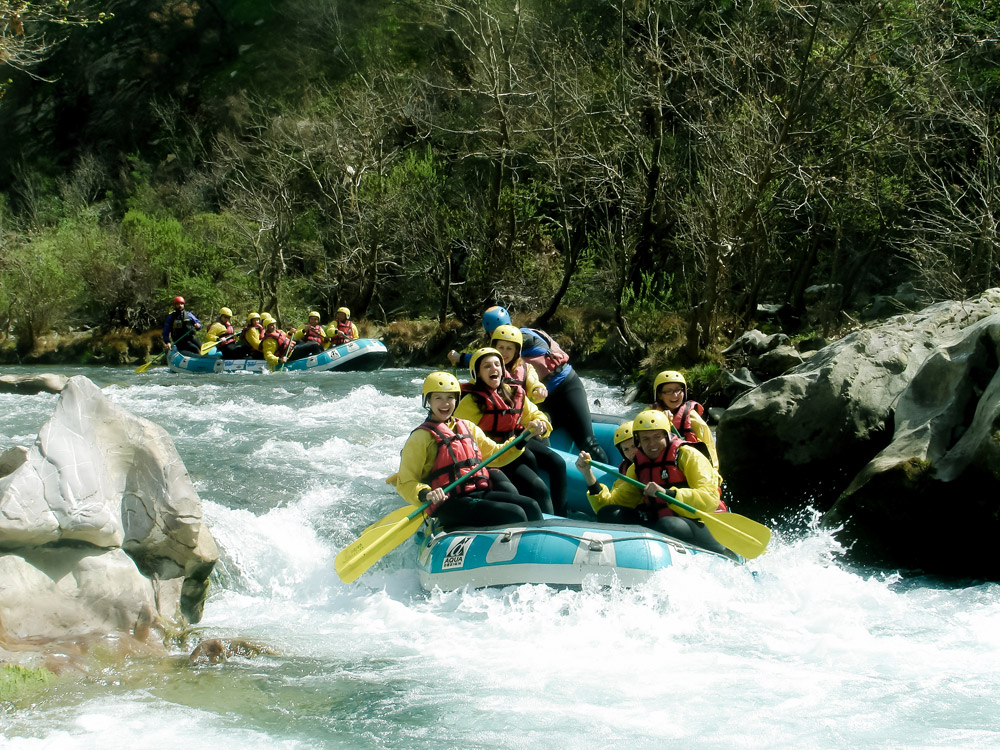 Rafting from Nafplio