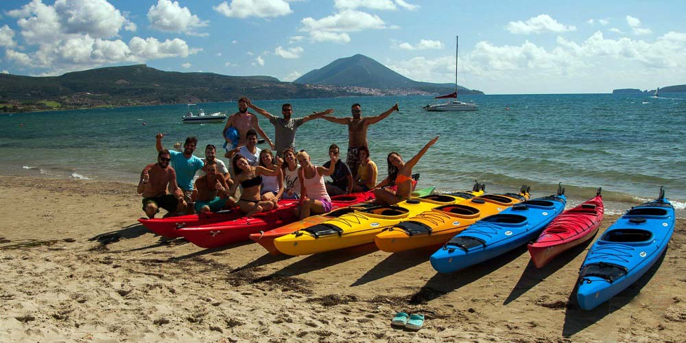 Enjoy a sea kayak activity in Nafplio with friends and Family