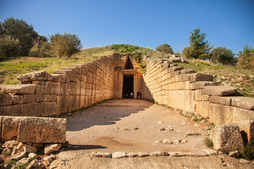 Treasure of Atreus in Mycenae